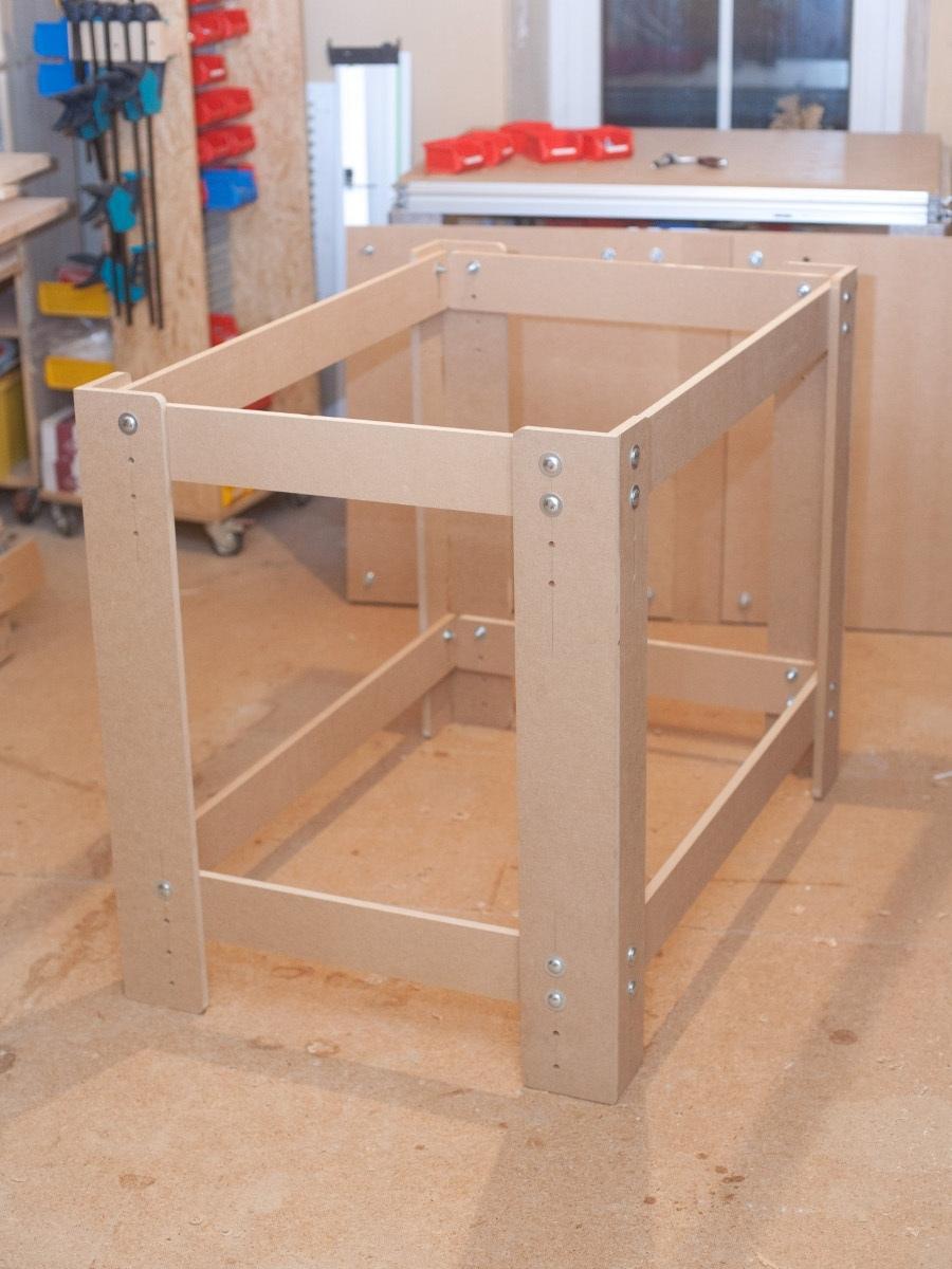 Arbeitstisch Mit Lochplatte Eigenbaukombinat