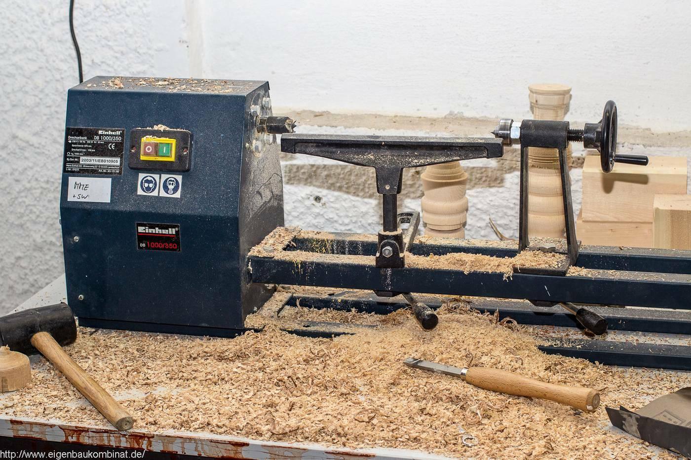 Neues Werkzeug in der Holzwerkstatt: Zwei Drechselbänke ...